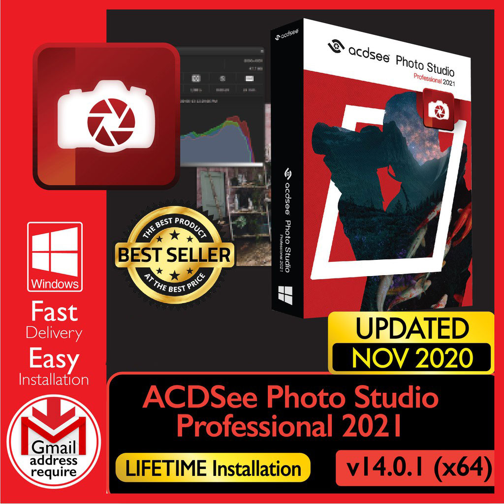 ACDSee Photo Studio Professional 2021 v14.0.1[WINDOWS x64] – Digital Download