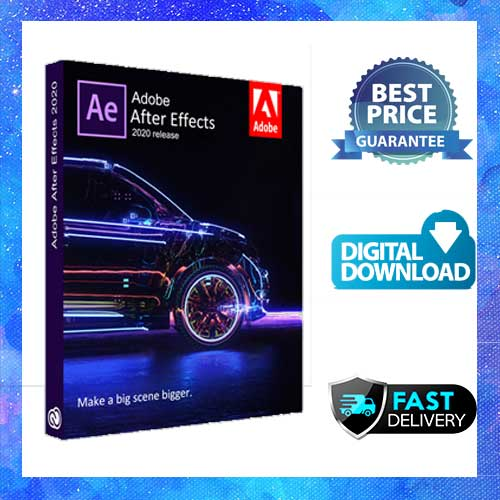 Adobe After Effects CC 2020 Lifetime Activation Windows 64 bit