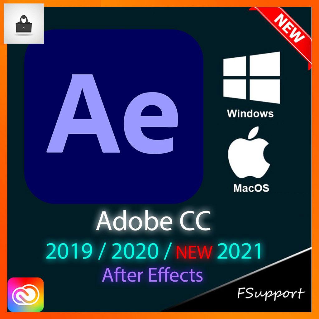 Adobe After Effects CC 2021 Lifetime Activation Windows 64 bit Digital Download