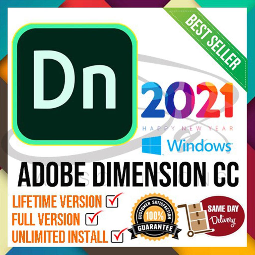 Adobe Dimension CC 2021 Lifetime Activation Windows 64 Bit