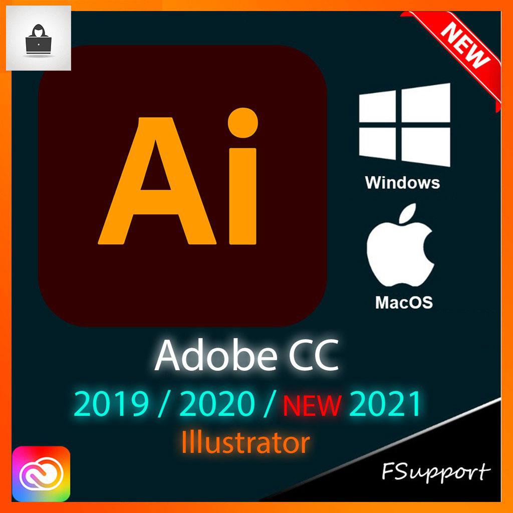 Adobe Illustrator CC 2021 Lifetime Activation Windows 64 Bit