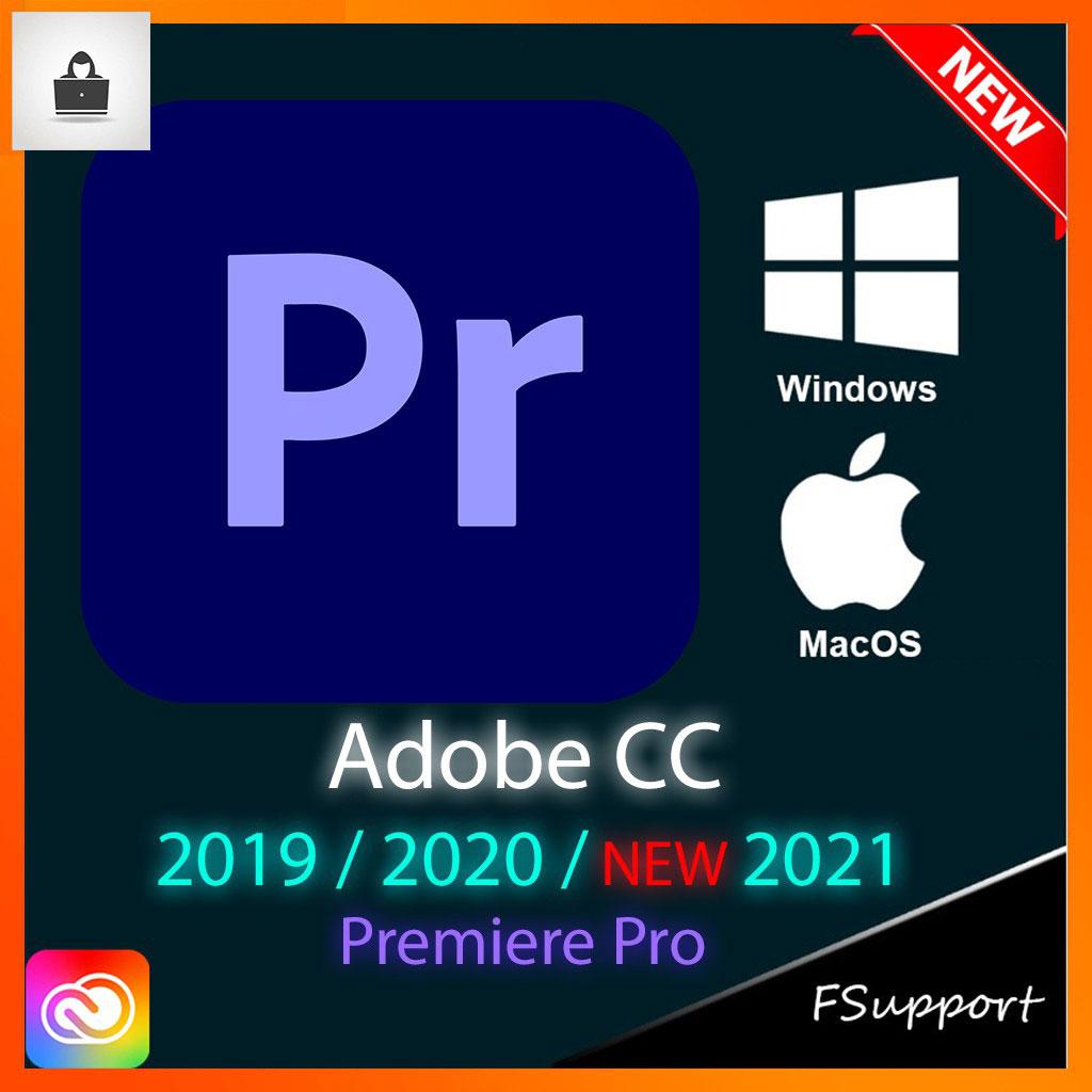 Adobe Premiere Pro CC 2021 Lifetime Activation Windows 64 Bit