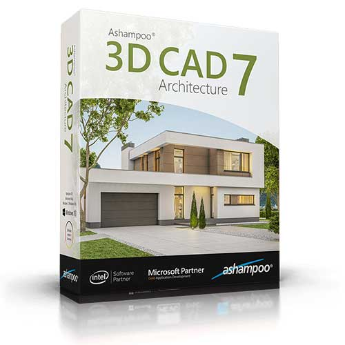 Ashampoo 3D CAD Architecture 7 64/32 Fast Delivery