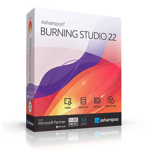 Ashampoo Burning Studio 22 LIFETIME Activation for windows 64/32 Fast Delivery