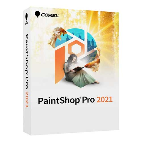 Corel PaintShop Pro 2021 Lifetime Activation Windows 64 Bit