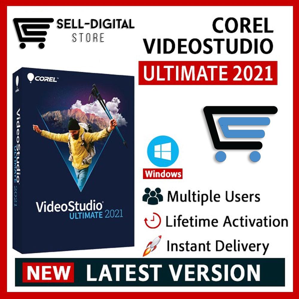 Corel VideoStudio Video Studio Ultimate 2021  V24  Lifetime  Full Version No Watermark [Windows] 100%Work