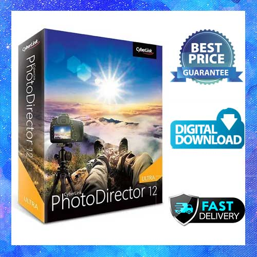CyberLink PhotoDirector Ultra 2021 Lifetime Activation Windows 64 Bit