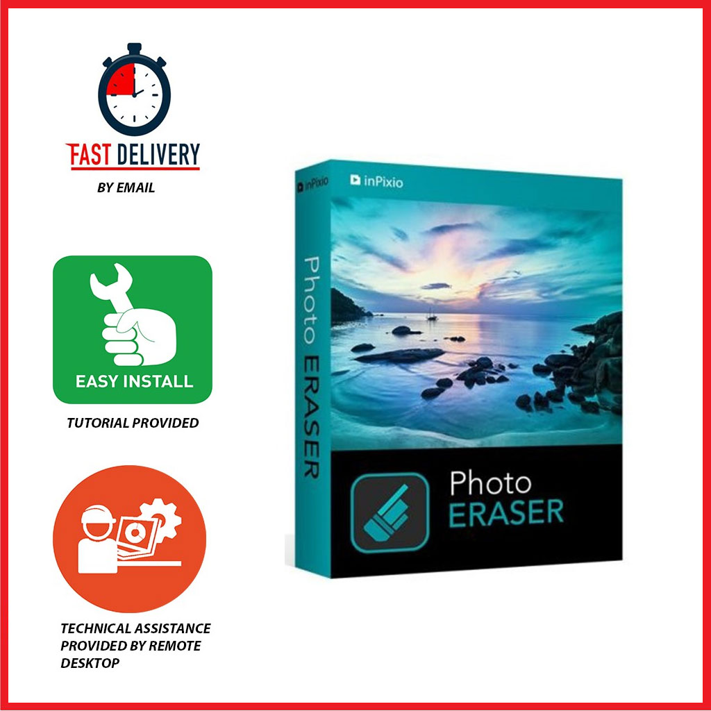 InPixio Photo Eraser 10 Full Version 2021 Lifetime Activation Windows 64 Bit