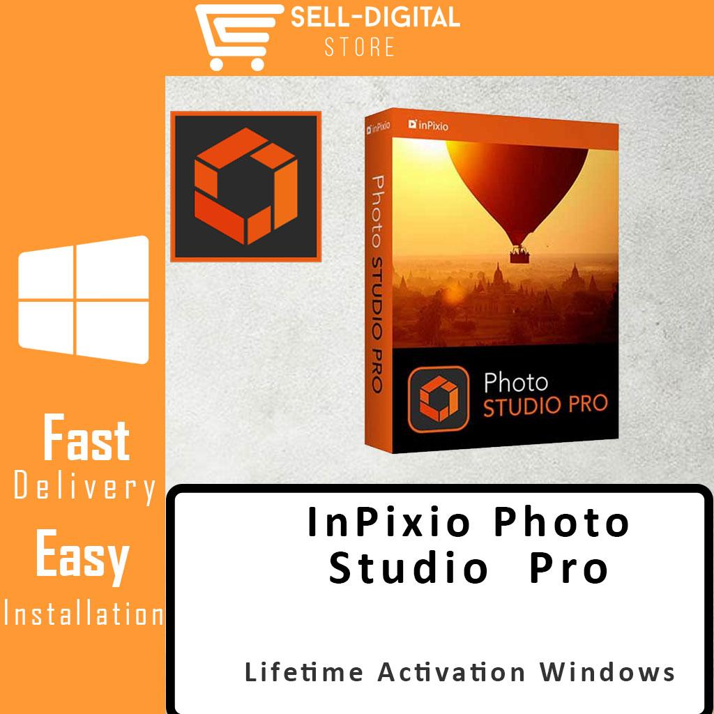 InPixio Photo Studio 10 Pro Lifetime Activation Windows