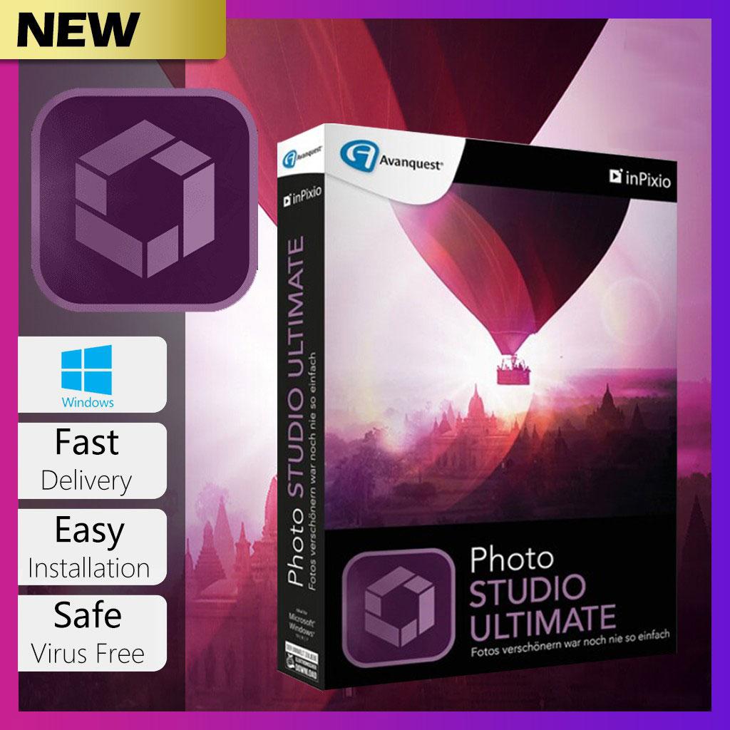 InPixio Photo Studio 10 Ultimate Lifetime Activation Windows