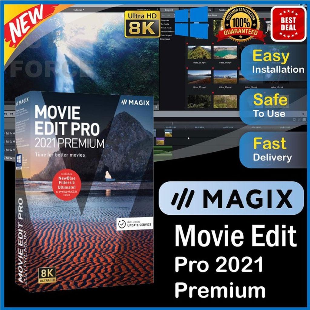 MAGIX Movie Edit Pro 2021 premium Latest & Full Version