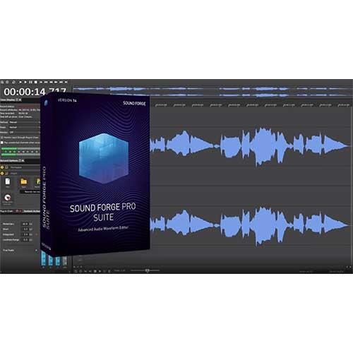 MAGIX SOUND FORGE Pro Suite 14 life time activation 64 & 32 Bit