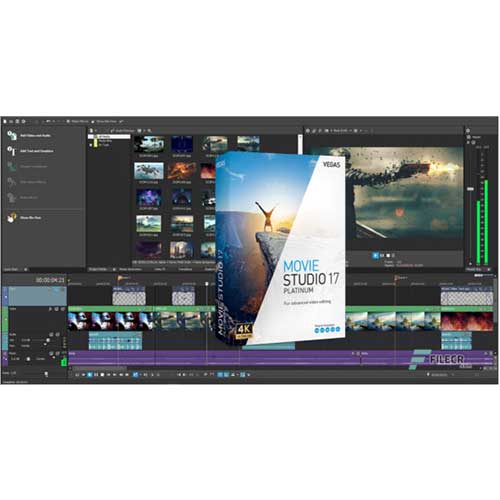 MAGIX VEGAS Movie Studio Platinum Latest & Full Version