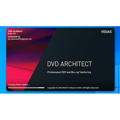 MAGIX Vegas DVD Architect 7 Lifetime Activation Windows 64 Bit