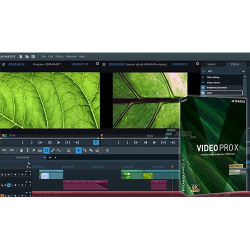 MAGIX Video Pro 2020 X12 Lifetime Activation Windows 64 Bit