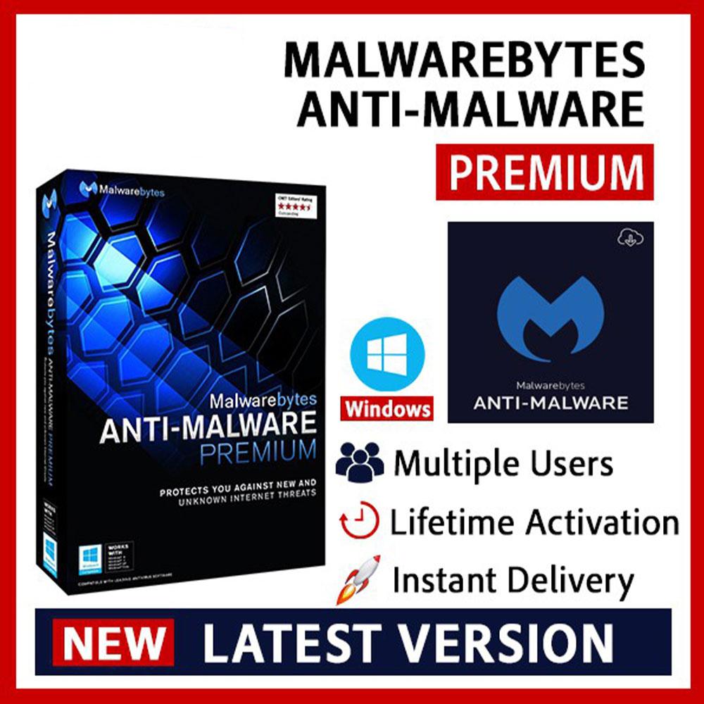 Malwarebytes Premium v4 Lifetime Key With Warranty