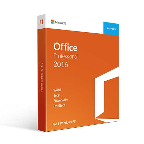 Microsoft Office 2016 Professional Plus for Windows [Phone Activation Key]