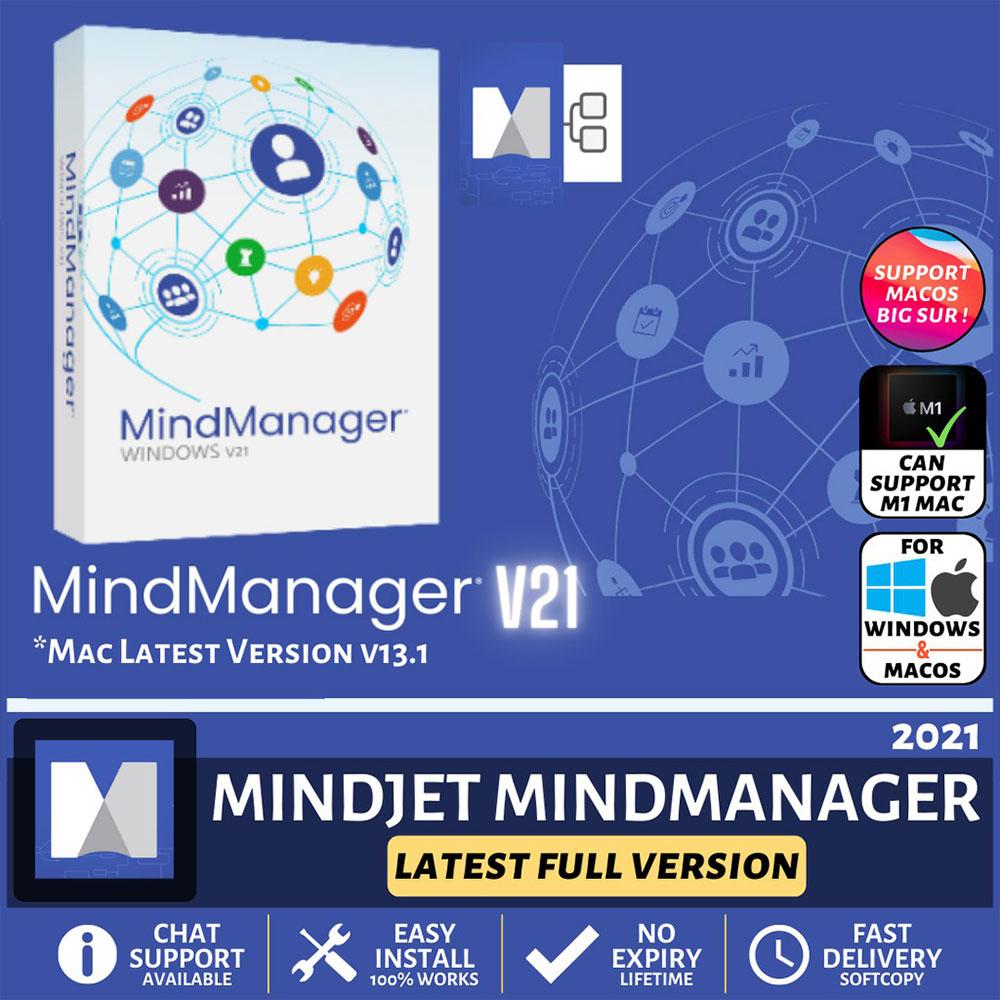 Mindjet MindManager 2021 Lifetime Full Version Win 64 Bit