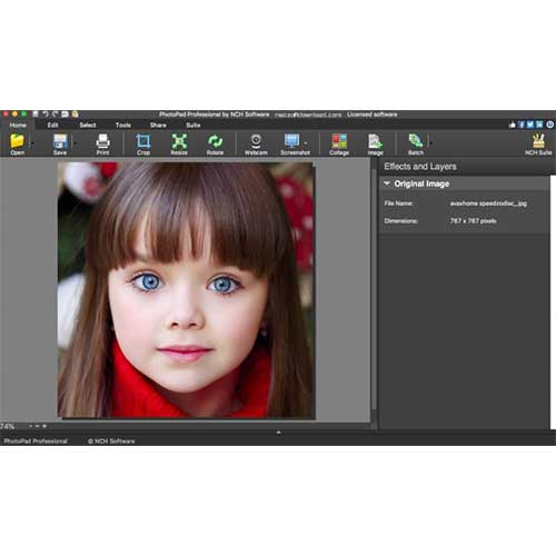 NCH PhotoPad Photo Editing Lifetime Activation Windows 64 Bit