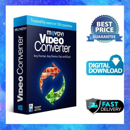 NEW Release Movavi Video Converter V21 Personal Convert video ,DVD 170 formats