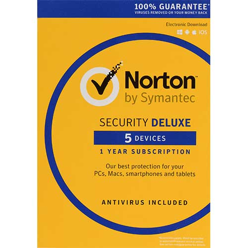 New Norton (Internet) Security Deluxe For 2020