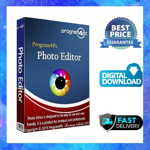 Program4PC Photo Editor Lifetime Activation Windows 64 Bit