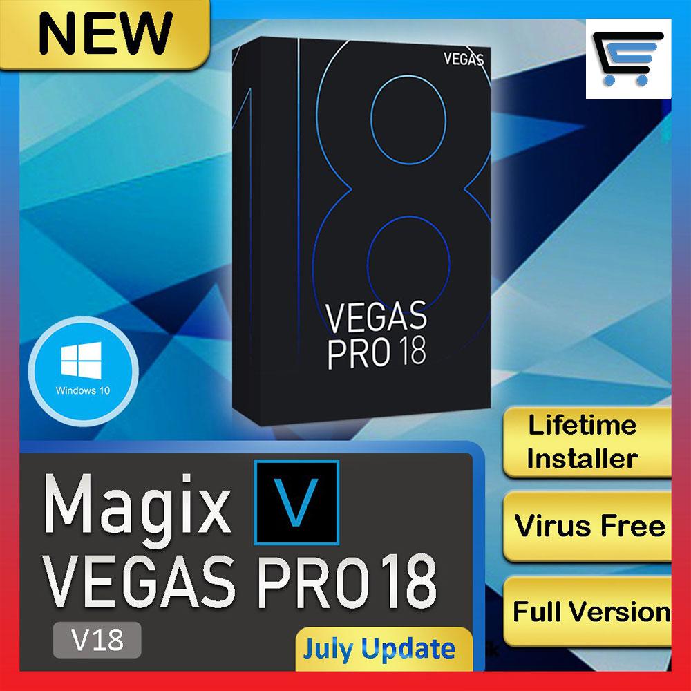 Sony Vegas Pro 18 [Latest Update] – Full Version [ Windows OS ]  Lifetime Activation 64 BitNo Watermark | 100%work
