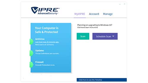 VIPRE Advanced Internet Security