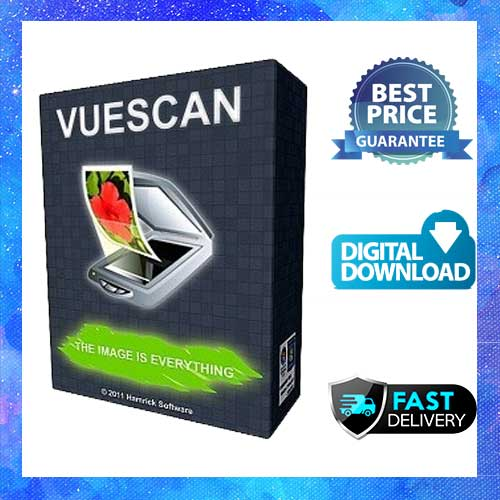 VueScan Professional v9 Lifetime Activation Windows 64 & 32 bit