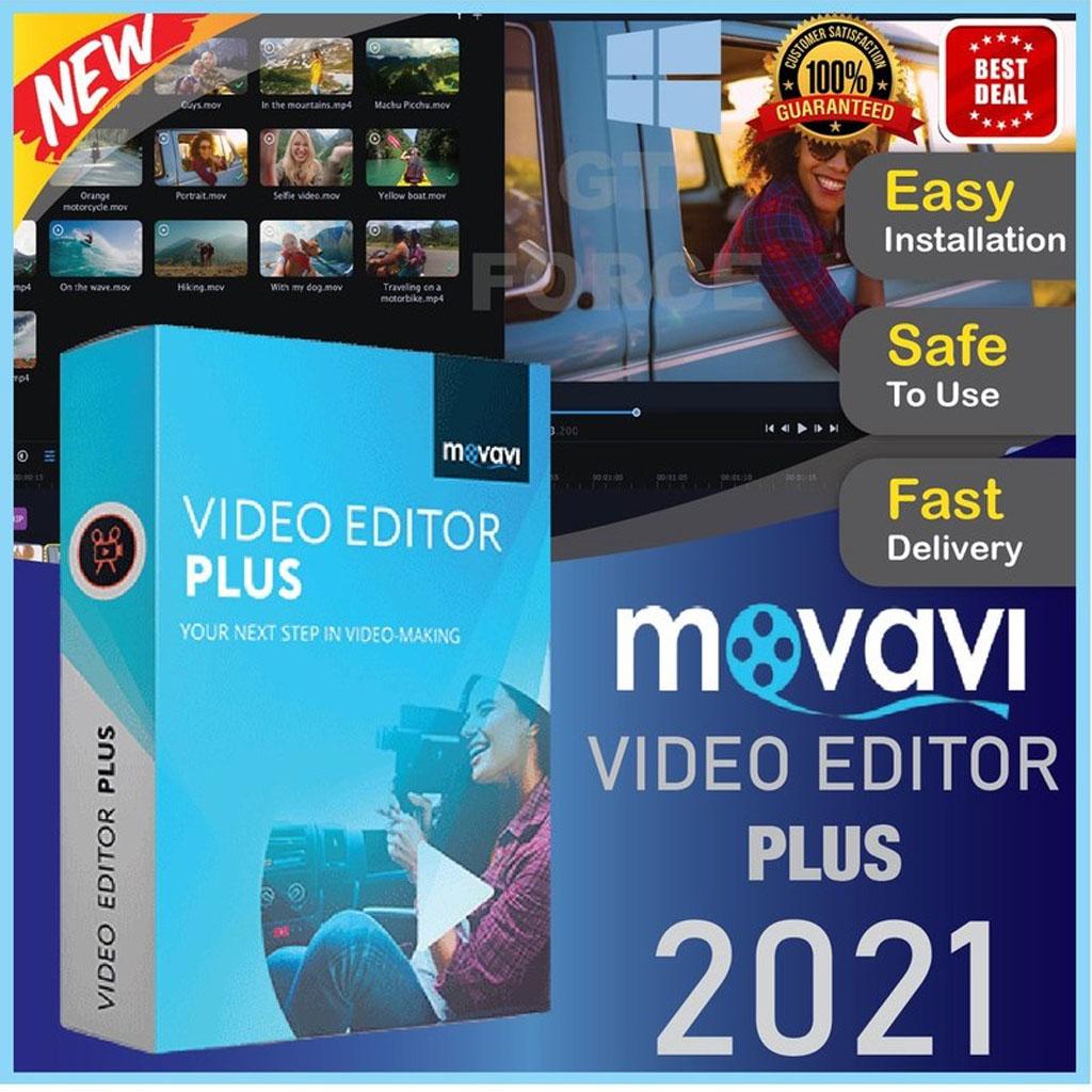 Movavi Video Editor Plus 2021 Lifetime Activation Windows 64 Bit