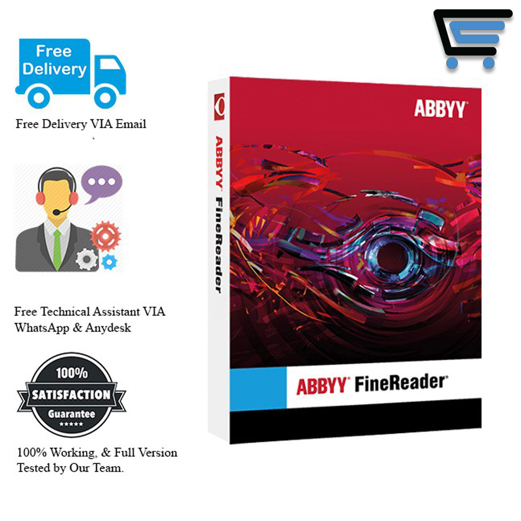 ABBYY FineReader Corporate 15 Latest 2021| Lifetime | No Watermark | Full Version |– [ Windows ]
