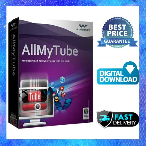 AllMyTube 7.4 🔑 Pre Activated Software 🔑 Fast Delivery (15 min)