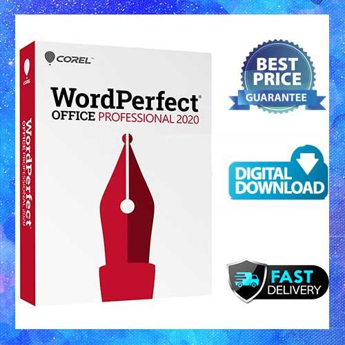 Corel wordperfect office 2020 professional Lifetime Licence