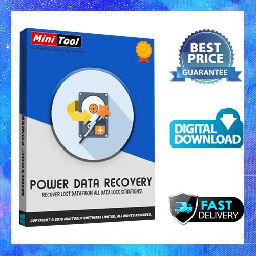 MiniTool Power Data Recovery 9.2 Full Version LifeTime  Latest Update