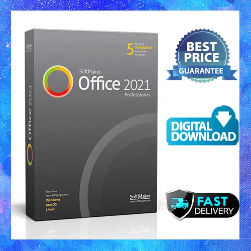 SoftMaker Office Professional 2021 Lifetime Licence