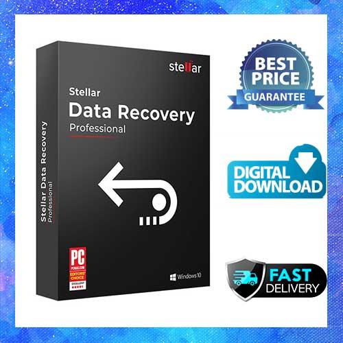 Stellar Data Recovery Professional 10  Full Version  Key  Multilingual  Windows