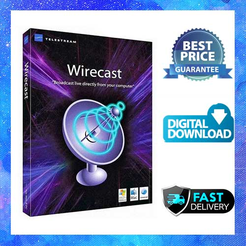 Wirecast Pro 14 Telestream Licence Lifetime