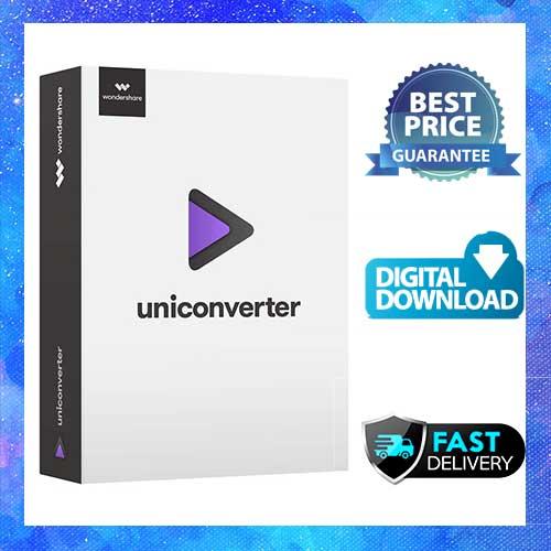 Wondershare UniConverter 12  Full Version  Key  Multilingual  Windows