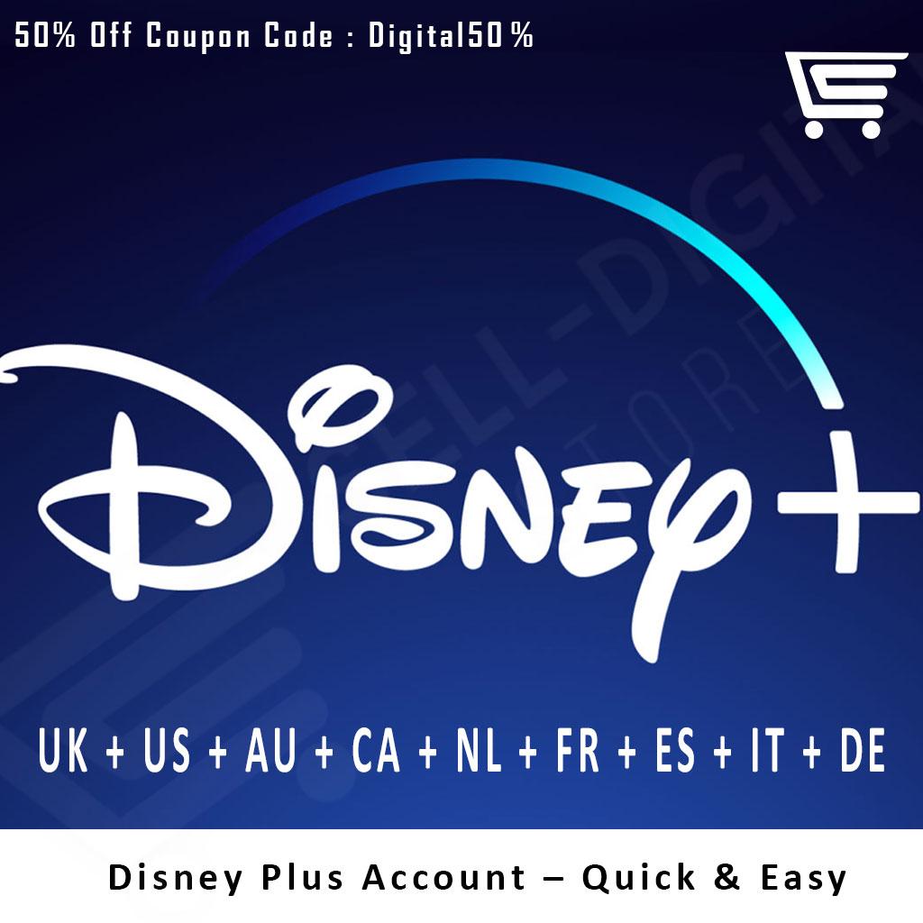 ✔️Disney Plus Account – Quick & Easy
