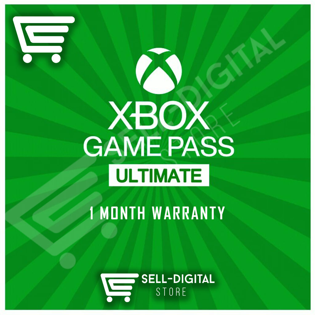 XBOX GAME PASS ULTIMATE / PRIVATE / 1 MONTH WARRANTY